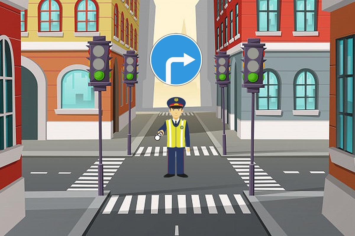 Понять сигналы и жесты регулировщика – что может быть проще?